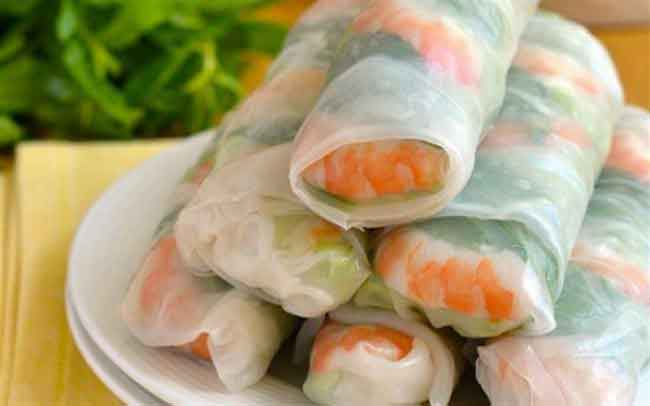 vietnamsese food nem cuon vietnamese fresh spring rolls